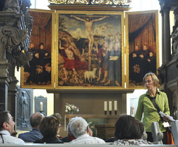 The Cranach Altar in Church of St. Peter and St. Paul, Weimar