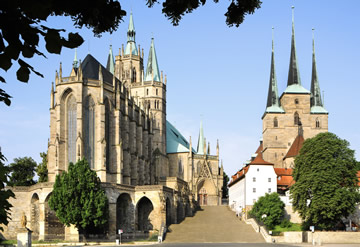 Erfurt Cathedral and St Serverus